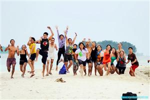 Tahun Baru 2014 @Pulau Harapan thumbnail